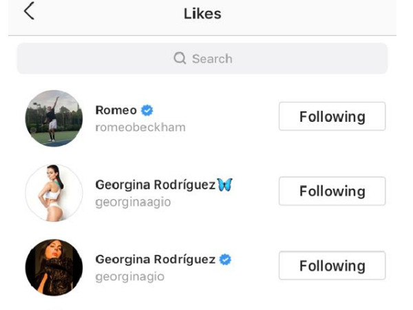 Romeo Beckham, Georgina Rodriguez