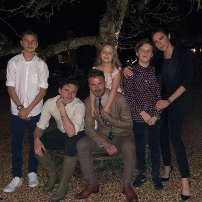 David Beckham, Victoria Beckham, The Beckham Family, Parents Day
