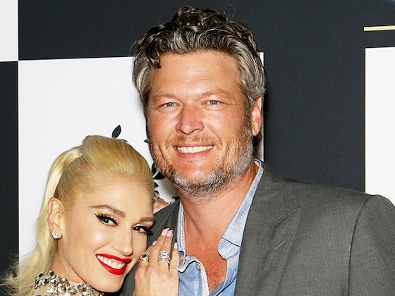 Blake Shelton Gets a Special Kiss on His Birthday and Gwen Stefani Approves