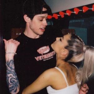 Pete Davidson, Ariana Grande, Instagram