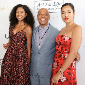 Russell Simmons, Ming Lee Simmons, Aoki Lee Simmons