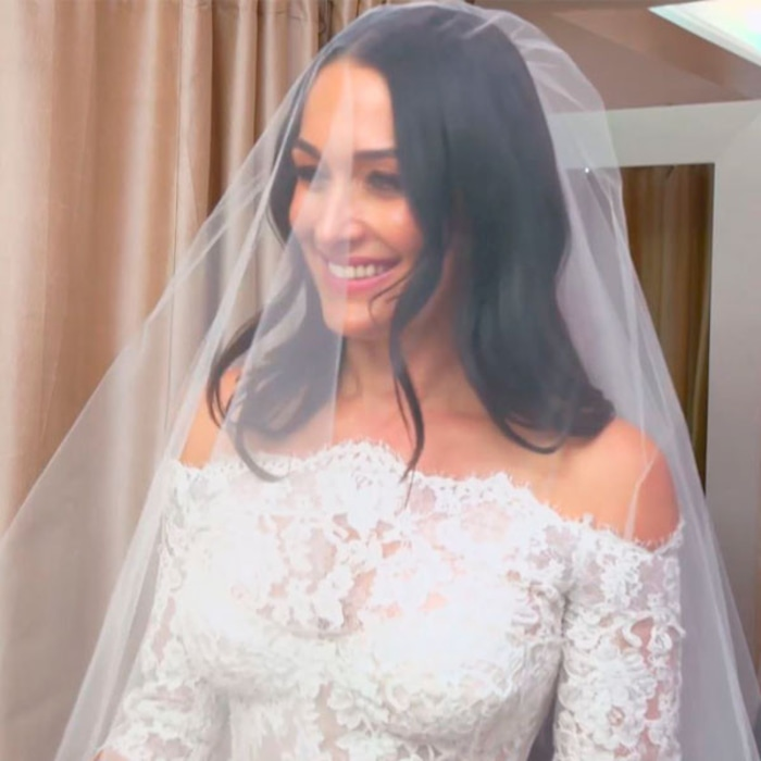 Watch Nikki Bella Find the Stunning Wedding Dress of Her Dreams on ...