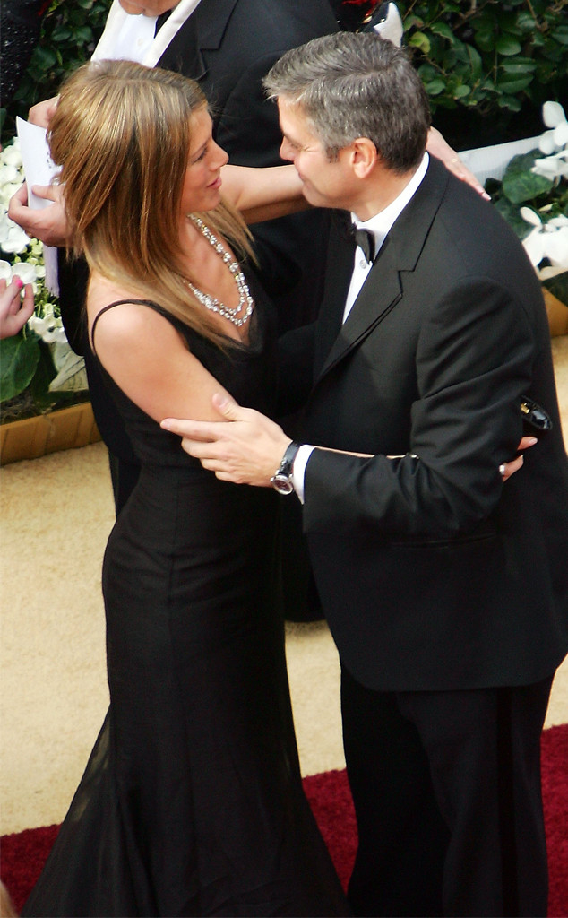 Jennifer Aniston, George Clooney, 2006 Oscars