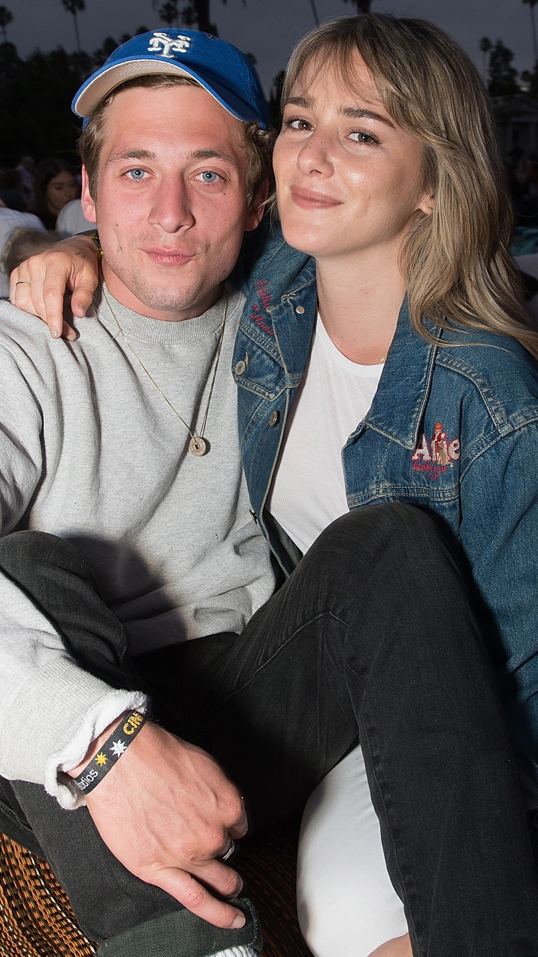Jeremy Allen White & Addison Timlin -  In April news of the  Shameless  star's  engagement  to his longtime girlfriend made headlines.