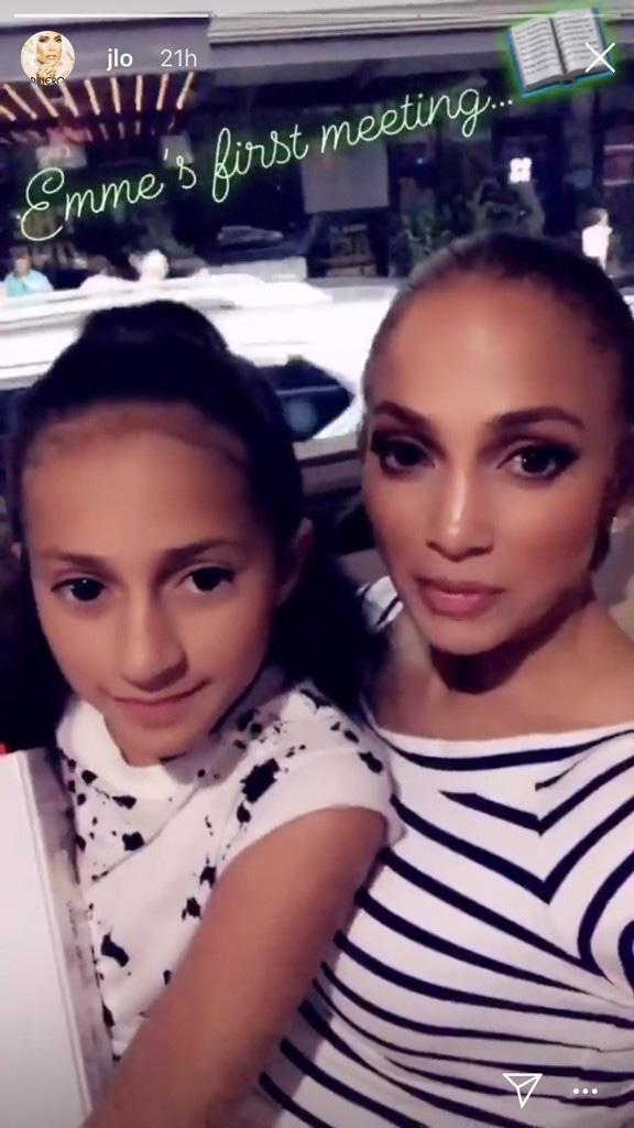 Jennifer Lopez, Emme, Instagram