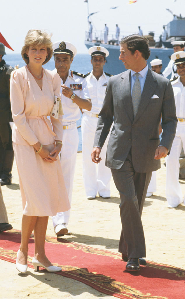 Prince Charles, Princess Diana, Egypt, Honeymoon, 1981