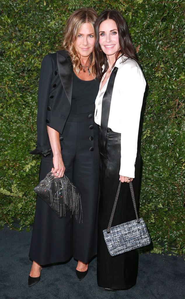 Jennifer Aniston, Courtney Cox