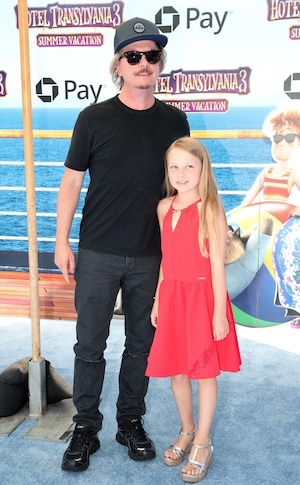 David Spade, Harper Spade, Hotel Transylvania 3: Summer Vacation, world premiere