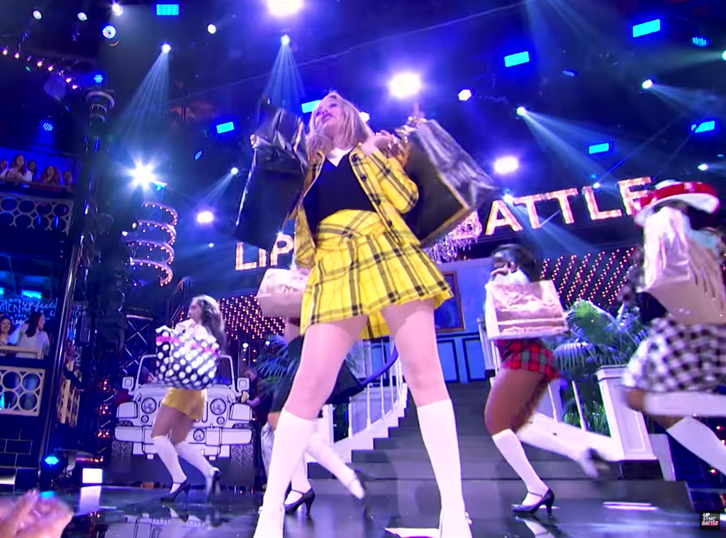 Alicia Silverstone, Lip Sync Battle