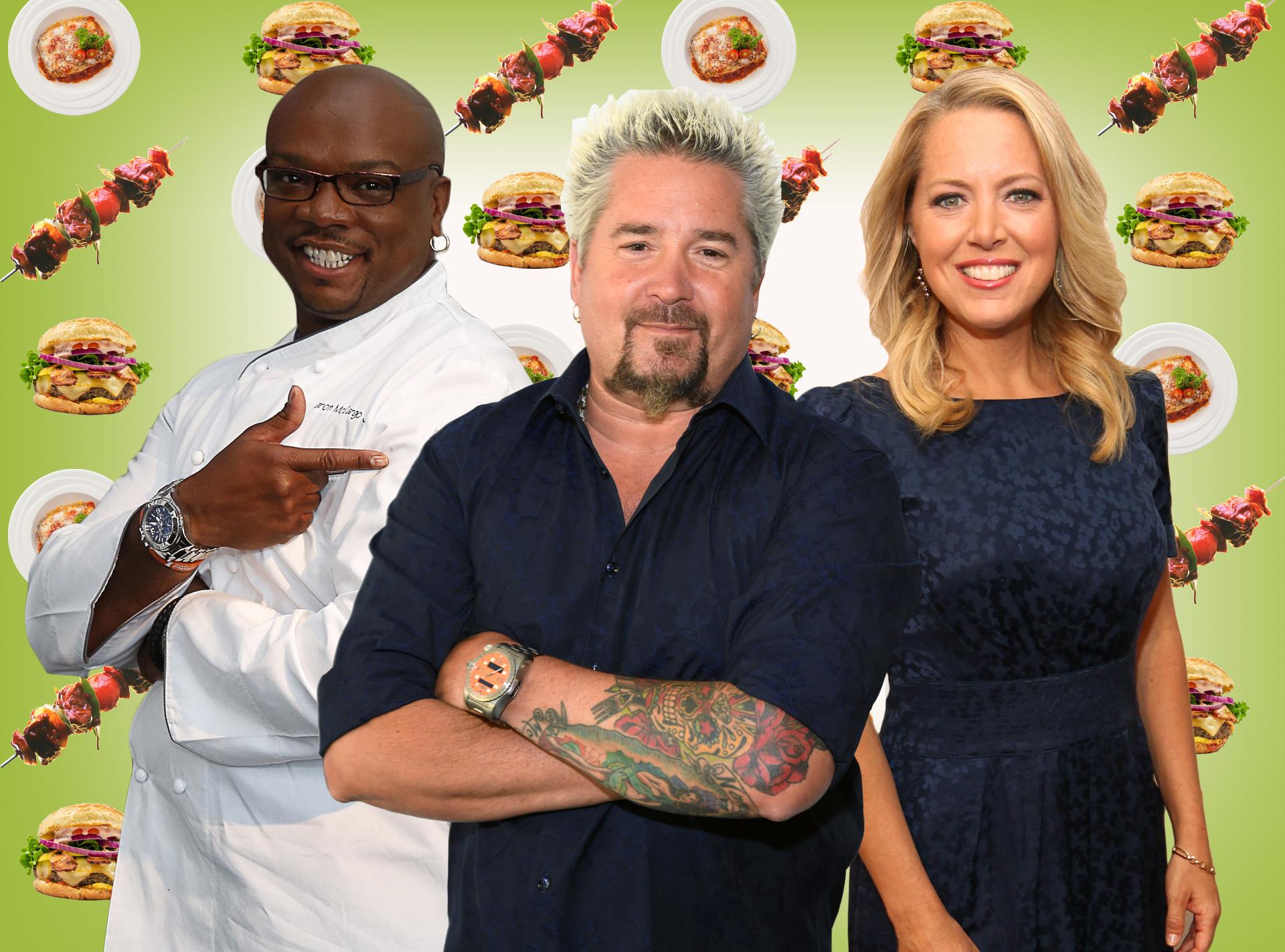 Next Food Network Star, Guy Fieri, Melissa d'Arabian, Aaron McCargo Jr.