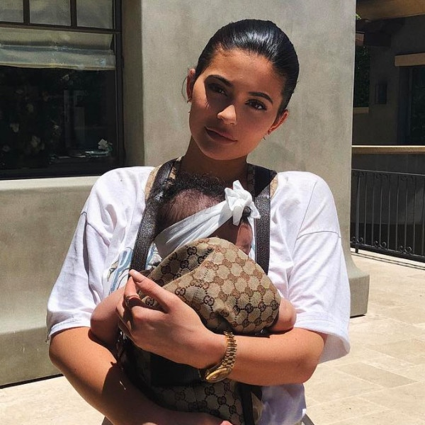 Kylie's daughter is 'changing every week'