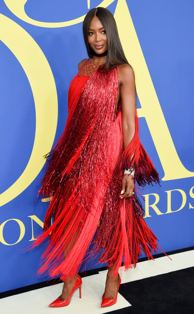 Image result for naomi campbell cfda