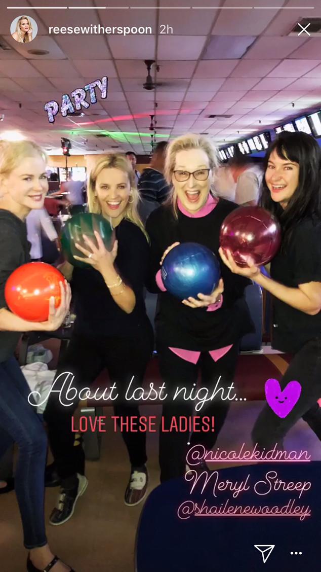 Nicole Kidman, Reese Witherspoon, Meryl Streep, Shailene Woodley