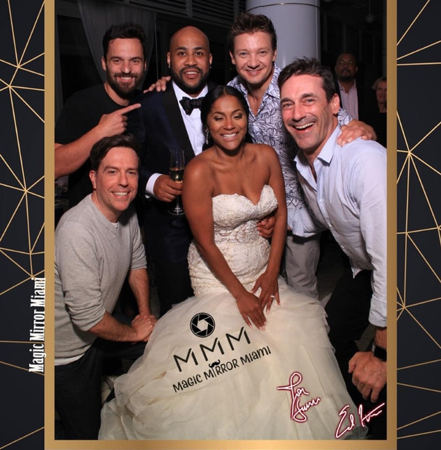Tag Stars From Celebrity Wedding Crashers