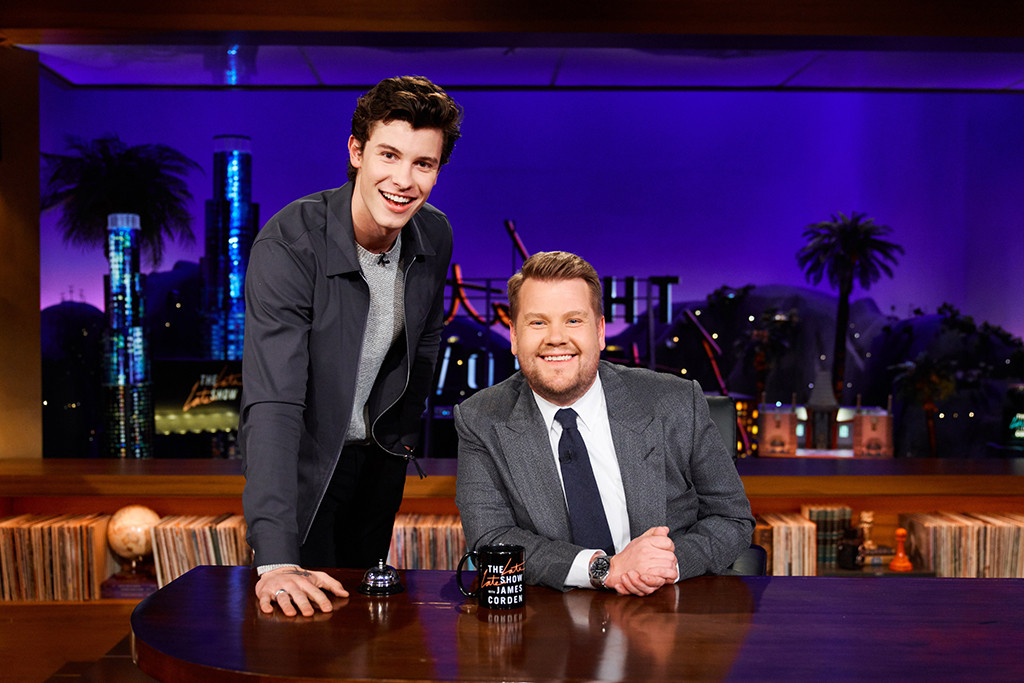 Shawn Mendes, The Late Late Show With James Corden