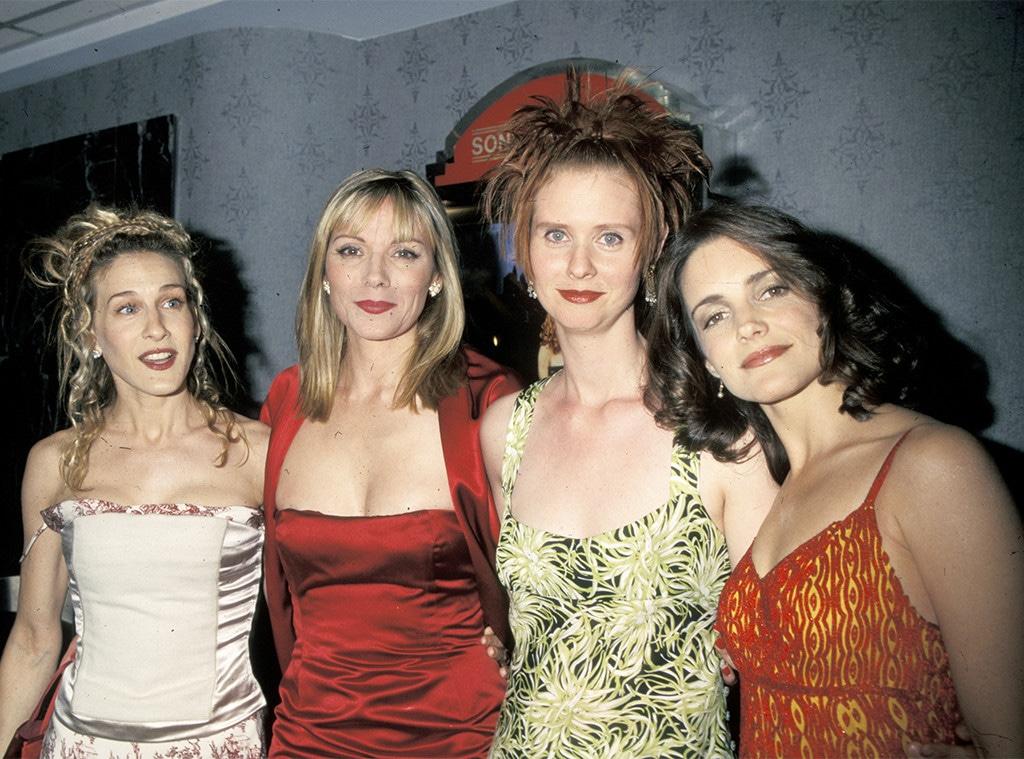 Sex and The City, 1998, Sarah Jessica Parker, Kim Canttrall, Cynthia Nixon, Kristin Davis