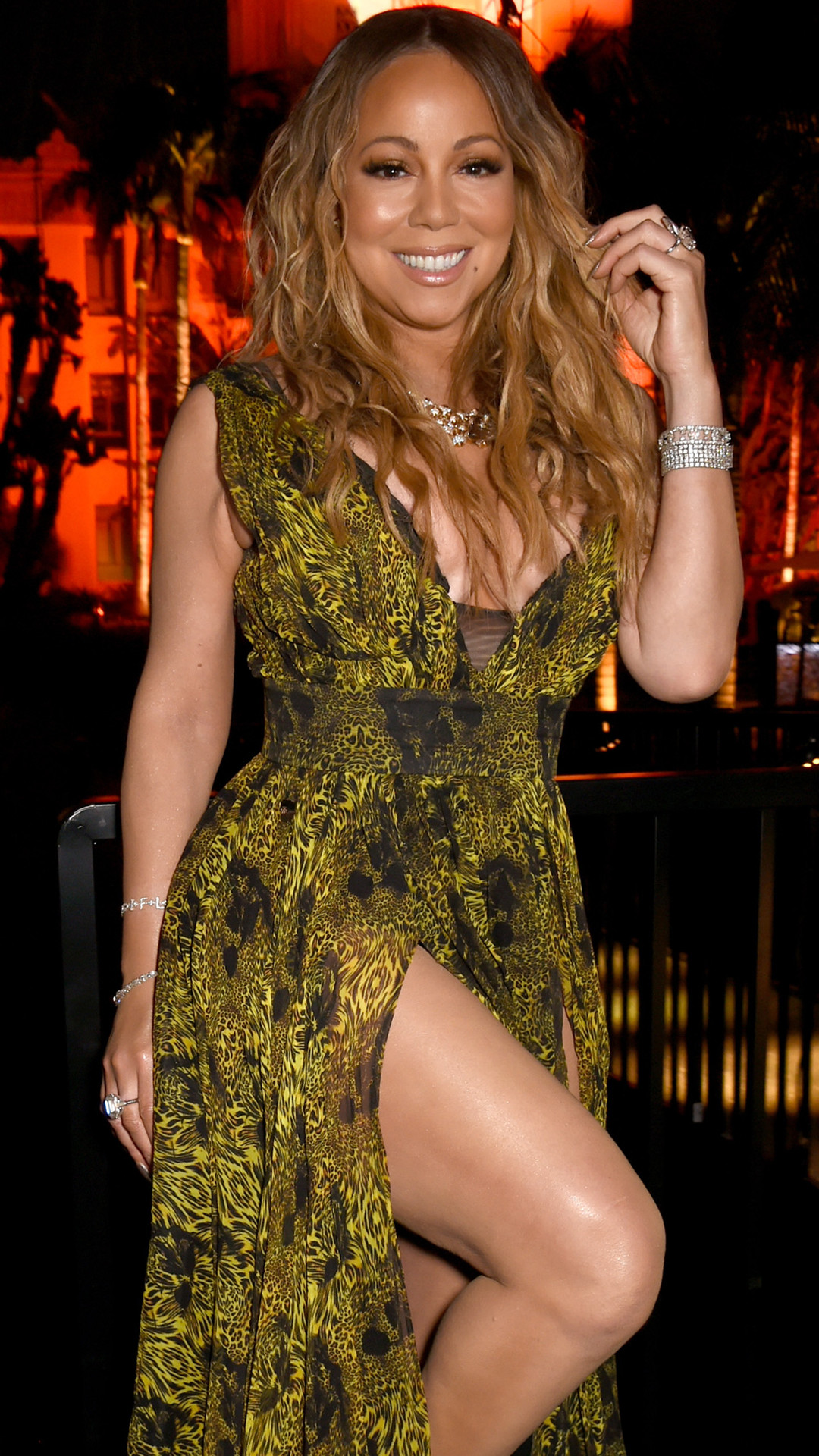 Mariah Carey, 2017 Oscars Party Pics, Vanity Fair Inside Pics