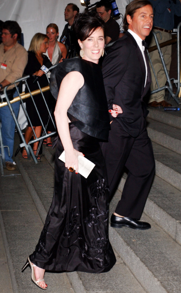 ESC: Kate Spade, Andy Spade, Met Gala 2003
