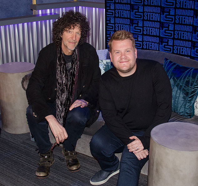 James Corden, The Howard Stern Show