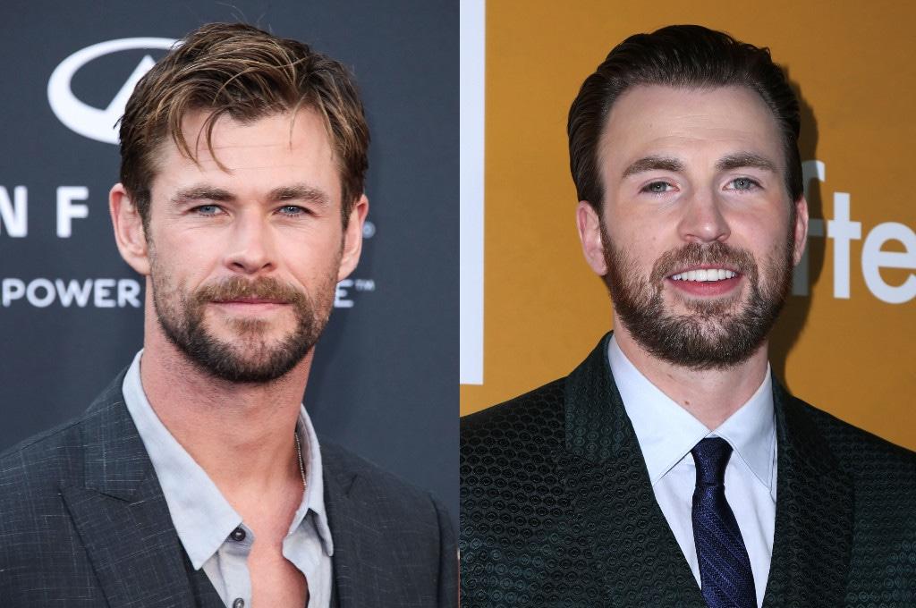 Chris Hemsworth, Chris Evans