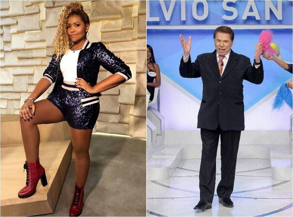 Gaby Amarantos, Silvio Santos