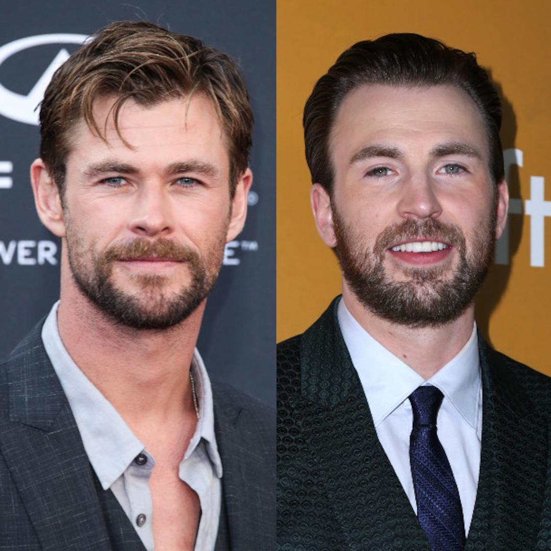 Chris Hemsworth Hilariously Trolls Chris Evans for His 40th Birthday