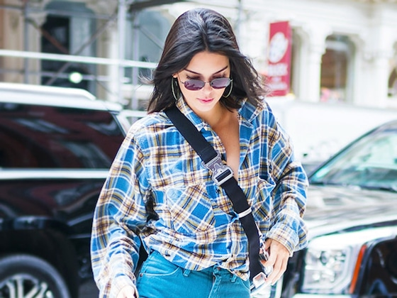Kendall Jenner Is Putting Colored Denim Back on Top