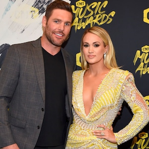 Mike Fisher, Carrie Underwood, 2018 CMT Awards