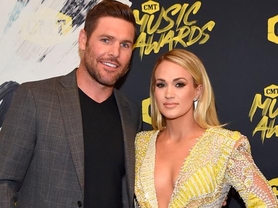 Carrie Underwood and Mike Fisher Make Rare Red Carpet Appearance at 2018 CMT Music Awards