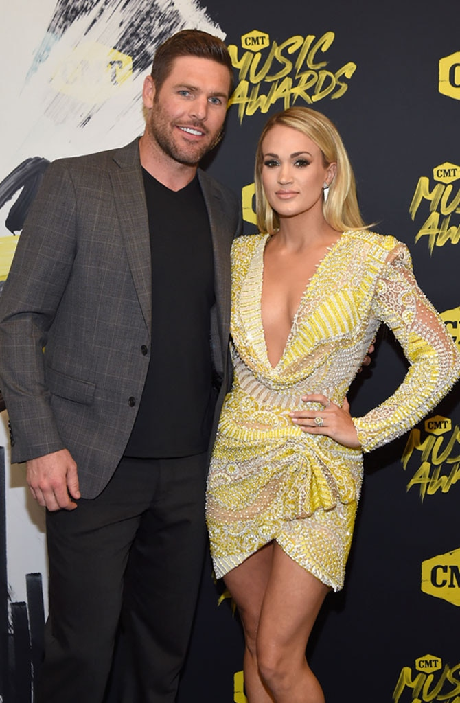 "Carrie Underwood and Mike Fisher -  The ""Cry Pretty"" singer and her hockey player husband have been married since 2010 and share two sons,  Isaiah  and  Jacob ."