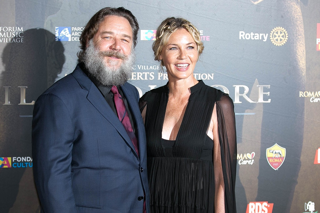 Russell Crowe, Connie Nielsen, Gladiator Reunion, Screening