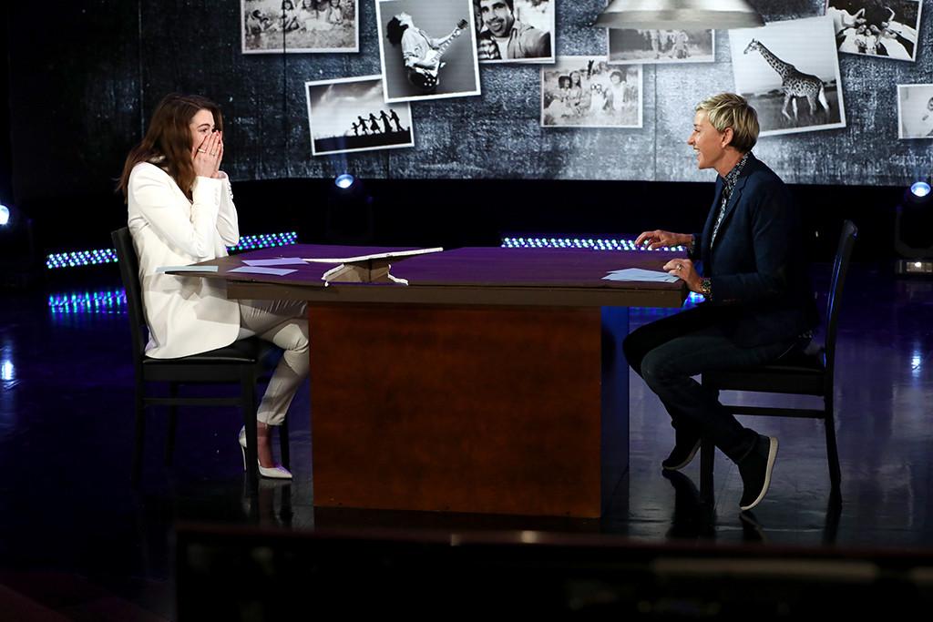 Anne Hathaway, Ellen DeGeneres