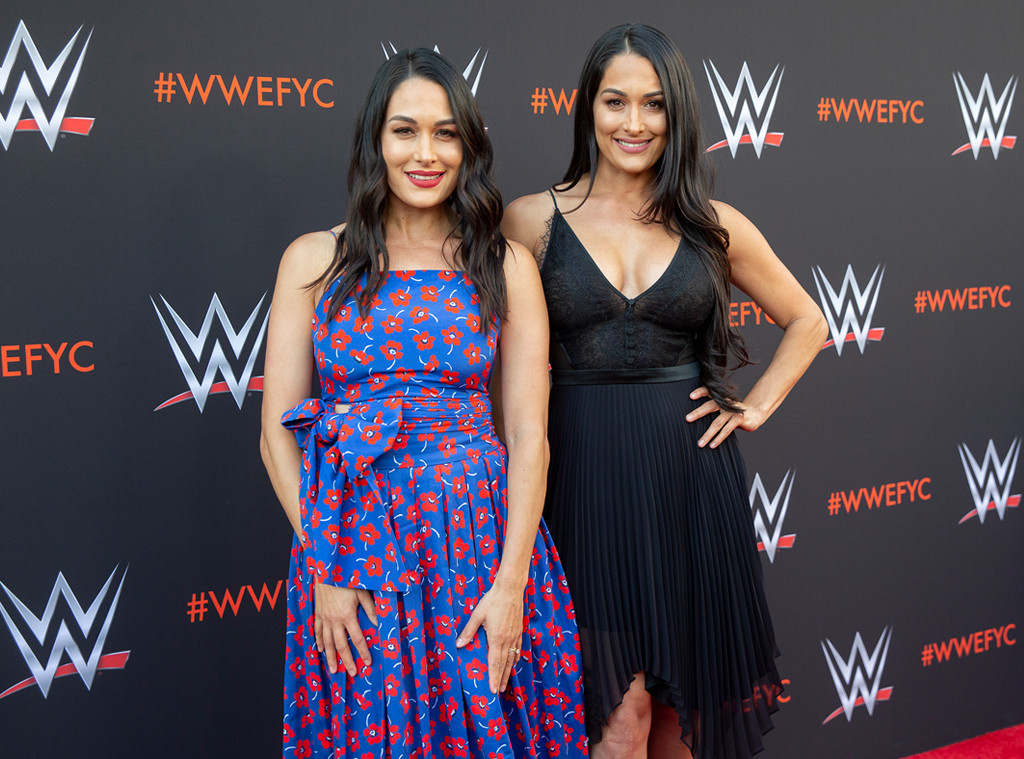 Brie Bella, Nikki Bella, WWE Emmy For Your Consideration Event