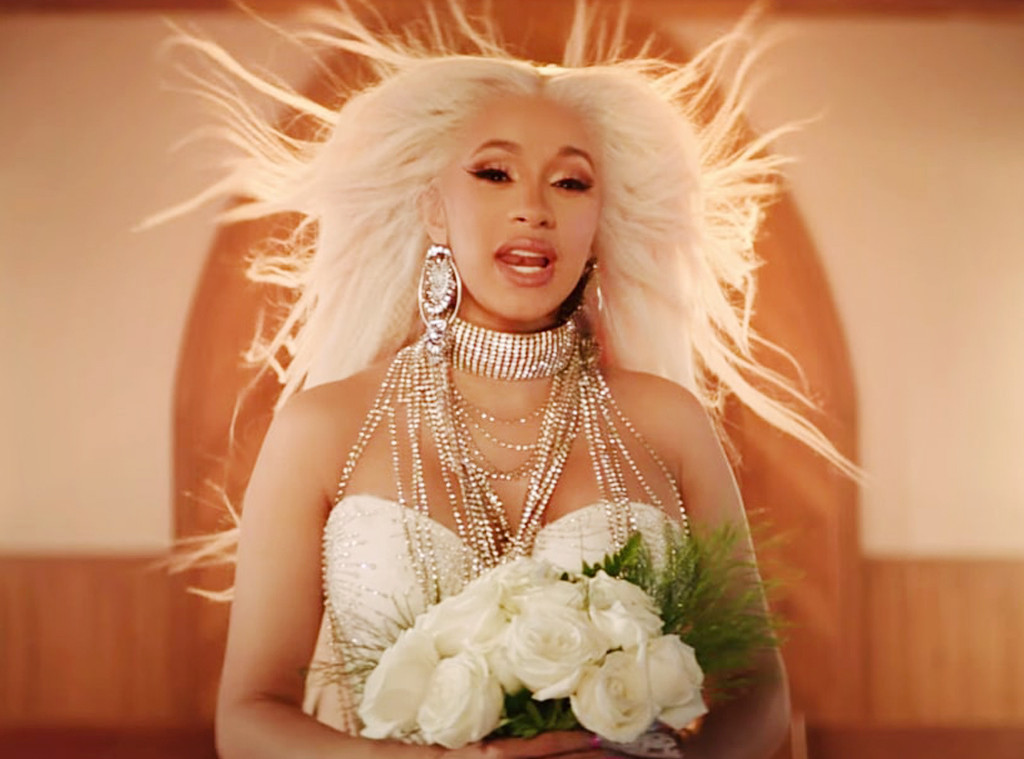 ESC: Music Video Weddings Gowns, Cardi B