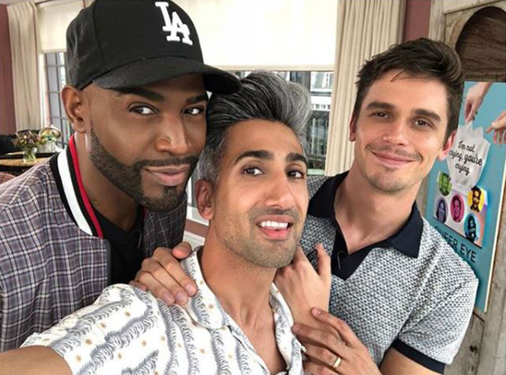 Queer Eye, Best Friends, Karamo Brown, Tan France, Antoni Porowski