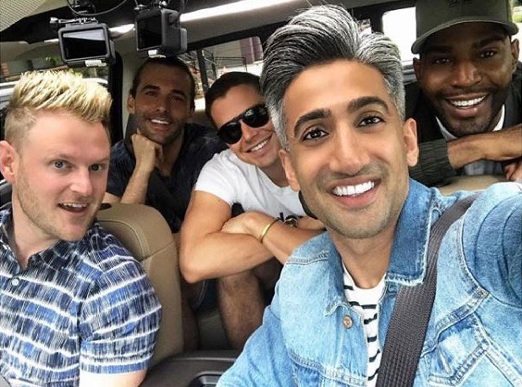 Queer Eye, Best Friends, Tan France, Antoni Porowski, Bobby Berk, Jonathan Van Ness, Karamo Brown
