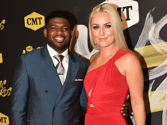 Lindsey Vonn and P.K. Subban Make Their Red Carpet Debut as a Couple at the 2018 CMT Music Awards