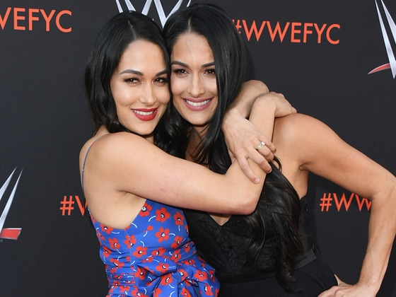 """Brie Bella Confirms Nikki Bella and John Cena Are """"Still Not Back"""" Together, But Are """"Working on It"""""""