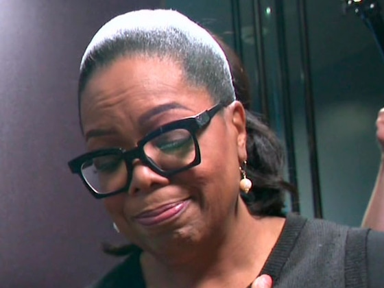 """Oprah Winfrey and Gayle King Get Choked Up at Her New """"Watching Oprah"""" Museum Exhibit"""