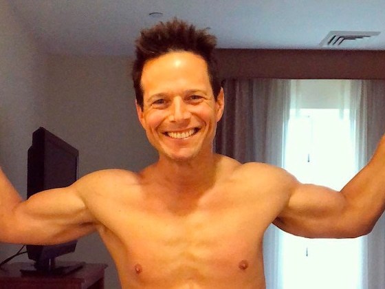 Scott Wolf Proudly Posts a Shirtless Photo to Celebrate Turning 50