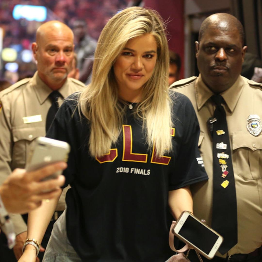 Khloe Kardashian Resurfaces to Cheer On Tristan Thompson at NBA Finals - E!  Online - CA
