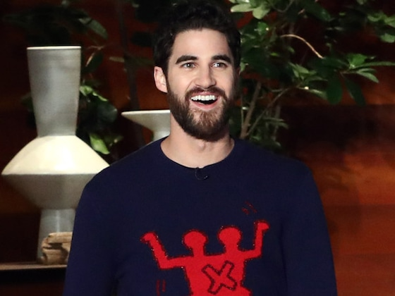 Darren Criss Doesn't Have a Problem With Being Naked on Camera