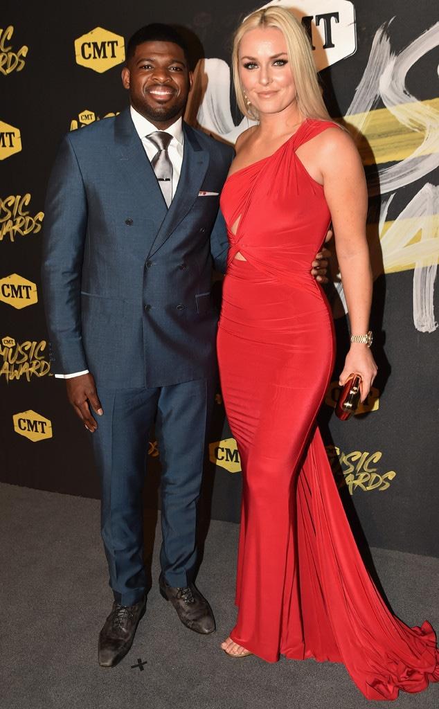 P.K. Subban, Lindsey Vonn, 2018 CMT Music Awards