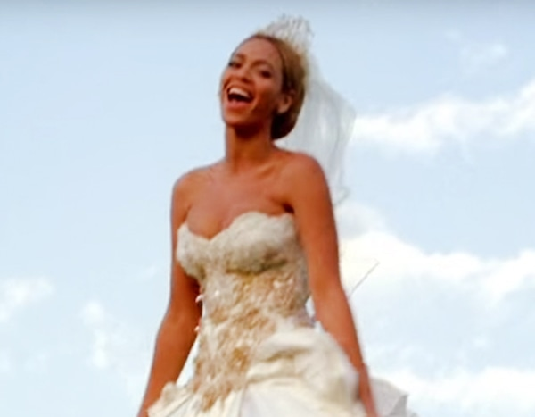 1 Beyonce From Best Wedding Dresses From Music Videos Of All Time