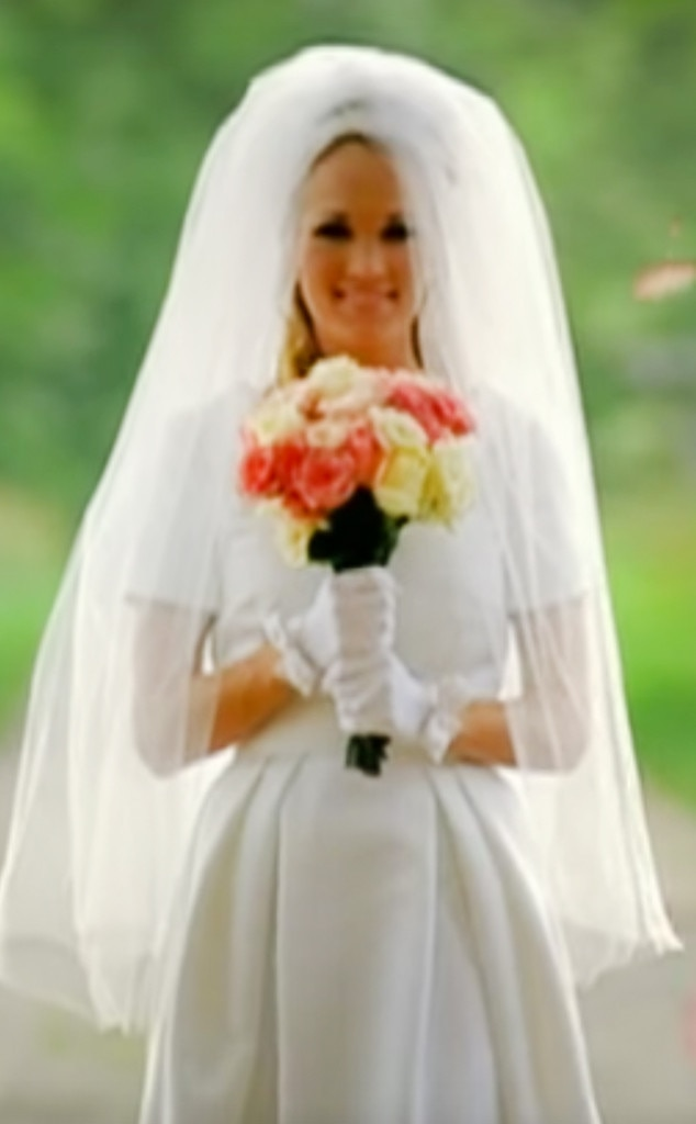 10 carrie underwood from best wedding dresses from music