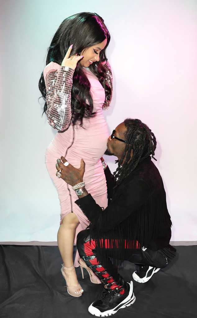 Cardi B Gives Offset A Lap Dance Onstage At Bet Awards: Cardi B And Offset Are Grandparents After Couple's Dog