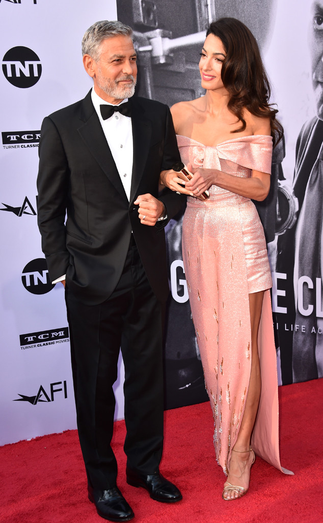 George Clooney, Amal Clooney, American Film Institutes 46th Life Achievement Award Gala Tribute to George Clooney