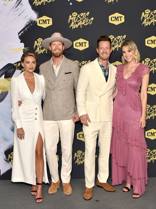 Brittney Marie Kelley, Brian Kelley, Tyler Hubbard, Hayley Hubbard, Florida Georgia Line, 2018 CMT Music Awards