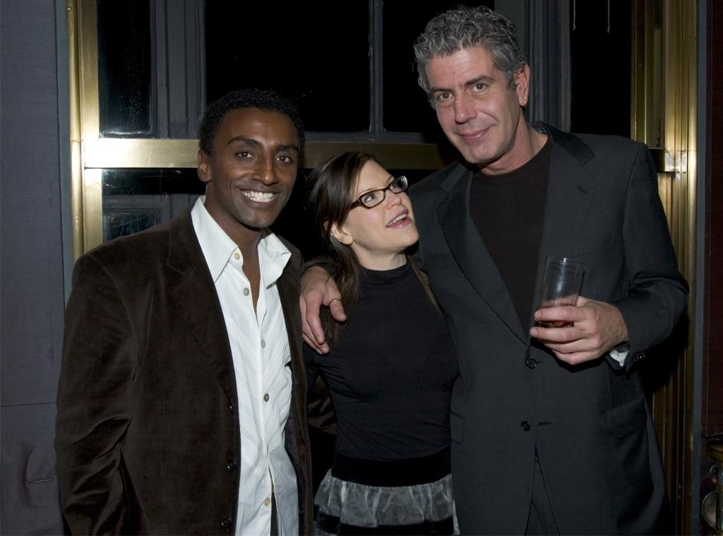 Marcus Samuelsson, Lisa Loeb, Anthony Bourdain, 2004