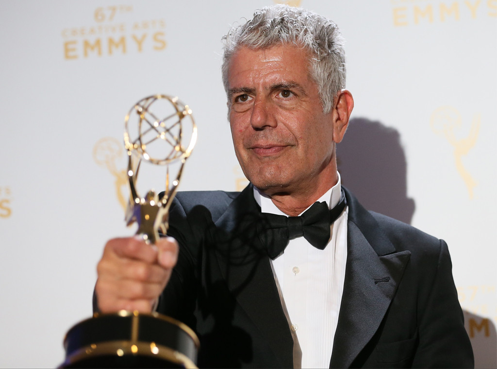 Anthony Bourdain, 2015 Creative Arts Emmy Awards